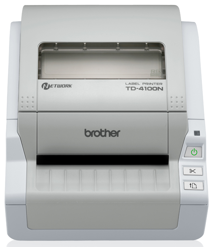 Brother TD-4100N label etiketten