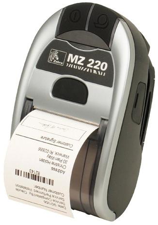 Zebra MZ220 label etiketten