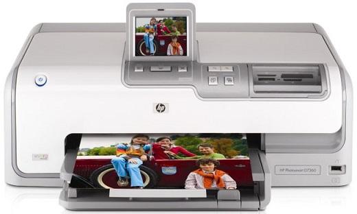 HP Photosmart D7360 inkt cartridge