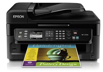 Epson Workforce WF-2540 Inkt cartridge