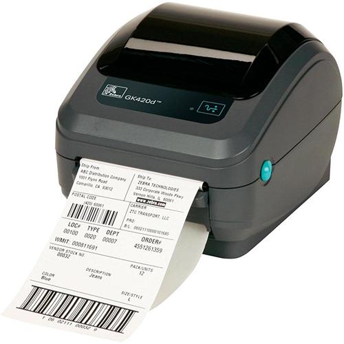 Zebra GK420D label etiketten