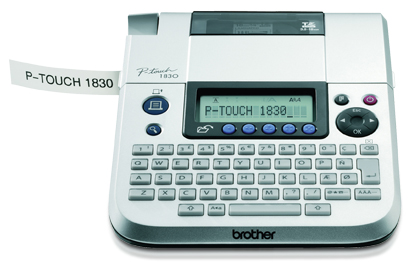 Brother PT-1830VP label lettertape