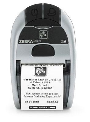 Zebra iMZ220 label etiketten
