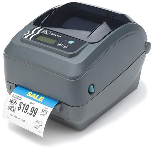 Zebra GX420 label etiketten