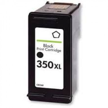 Huismerk voor HP 350 inkt cartridge / HP 350XL inkt cartridge Zwart (CB335EE) 32ML