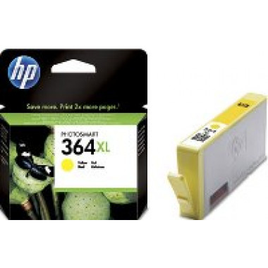 HP 364XL inkt cartridge Geel (6ML) - Origineel