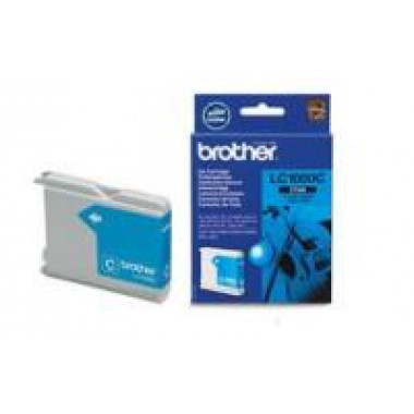 Brother LC-1000C inkt cartridge Cyaan (6,5ML) - Origineel