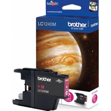 Brother LC-1240M inkt cartridge Magenta (7,1ML) - Origineel