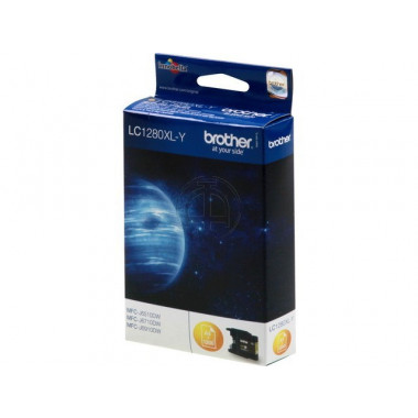 Brother LC-1280Y inkt cartridge Geel (13,3ML) - Origineel