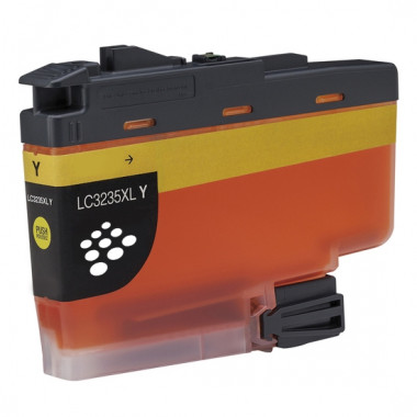 Brother LC-3235XLY inkt cartridge Geel (50ml) - Huismerk