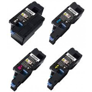 Dell 593-11140 / 593-11143 toner cartridge Multipack 4 st. (Dell 1250) - Huismerk set