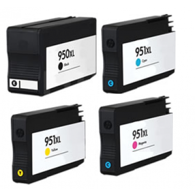 Huismerk voor HP 950XL inkt cartridge / HP 951XL cartridge Multipack set 4x
