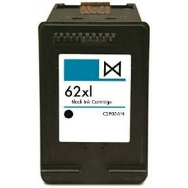 Huismerk voor HP C2P04AE cartridge / HP C2P05AE inkt cartridge Zwart (62 XL) 18ML