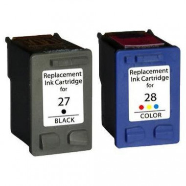 Huismerk voor HP C8727AE inkt cartridge + HP C8728AE inkt cartridge Multipack set