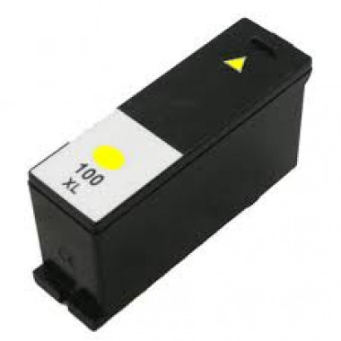 Lexmark 100XL inkt cartridge Geel (12ml) - Huismerk