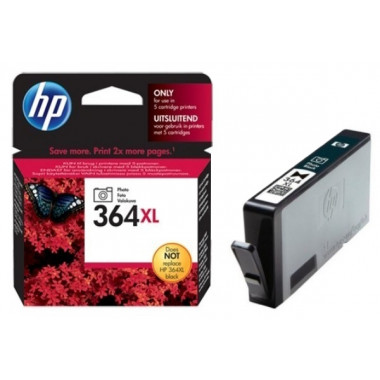 HP 364XL inkt cartridge Foto Zwart (6ML) - Origineel
