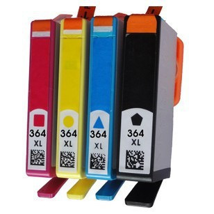 hp 364xl inkt cartridge multipack kopen 4 stuks. Black Bedroom Furniture Sets. Home Design Ideas