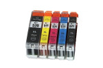 Canon PGI-570 XL cartridge / Canon CLI-571 XL inkt cartridge set Multipack - Huismerk