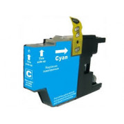 Brother LC-1280C inktcartridge Cyaan (20ML) - Huismerk