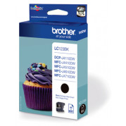 Brother LC-123BK inkt cartridge Zwart (13,4ML) - Origineel