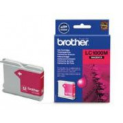 Brother LC-1000M inkt cartridge Magenta (6,5ML) - Origineel