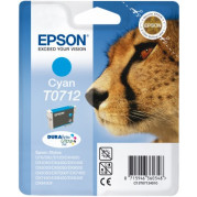 Epson T0712 inkt cartridge (T07124011) Cyaan (5,5ML) - Origineel