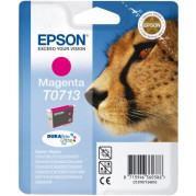 Epson T0713 inkt cartridge (T07134011) Magenta (5,5ML) - Origineel