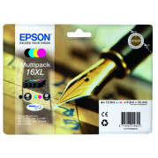 Epson 16XL cartridge (T1636) Multipack 4st. (32,4ML) - Origineel