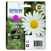 Epson T1813 inkt cartridge (T18134010) Magenta (6,6ML) - Origineel