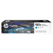 HP 981X / L0R09A inkt cartridge Cyaan - Origineel (116ML)