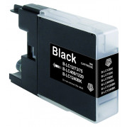 Brother LC-1240BK inkt cartridge Zwart (28,5ML) - Huismerk
