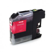 Brother LC-225M XXL inkt cartridge Magenta (huismerk) Met CHIP