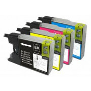 Brother LC-1240 Multipack inktcartridges (set 4x) - Huismerk