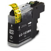 Brother LC-123BK inkt cartridge Zwart (20ML) - Huismerk