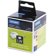 Dymo 99010 Label Etiket S0722370 89mm x 28mm (2 rollen)