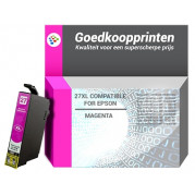 Epson T2713 inkt cartridge Magenta - Huismerk (14ML)