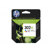 HP F6U67AE cartridge Kleur (302 XL) 8ML - Origineel