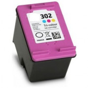 Huismerk voor HP F6U65AE inkt cartridge / HP F6U67AE cartridge Kleur (302 XL) 8ML