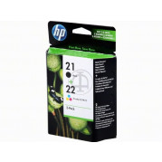 HP 21 + HP 22 inkt cartridge (SD367AE) Multipack - Origineel set