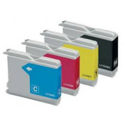 Brother LC-1000 Multipack inktcartridges (set 4x) - Huismerk