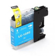 Brother LC-125C inkt cartridge Cyaan (15 ML) - Huismerk