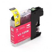 Brother LC-125M inkt cartridge Magenta (15 ML) - Huismerk