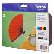 Brother LC-129 / LC-125 inkt cartridge Multipack - Originele set (4 st.)