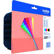 Brother LC-223 cartridge Multipack set (4 stuks) - Origineel