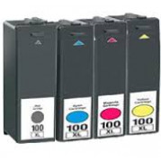 Lexmark 100XL inkt cartridge Multipack (4-pack) - Huismerk