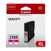 Canon PGI-2500M XL inkt cartridge Magenta - Origineel (19,3 ML)
