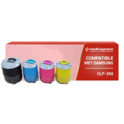 Samsung CLP-350 toner cartridge Multipack - Huismerk set