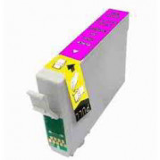 Epson T0713 Magenta inkt cartridge met CHIP (12ML) - Huismerk
