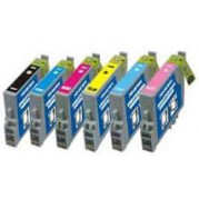 Epson T0807 inkt cartridge multipack (6 -pack) - Huismerk