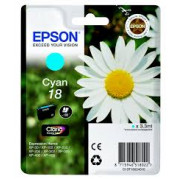 Epson T1802 inkt cartridge (T18024010) Cyaan (3,3ML) - Origineel